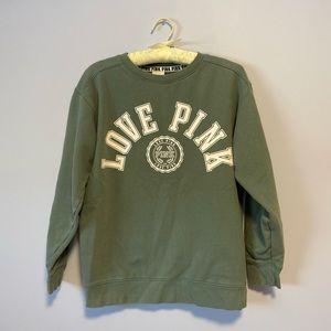 Victoria Secret PINK oversized sweatshirt